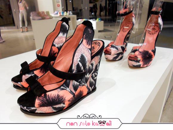 scarpe della Nuova Collezione Fornarina Primavera Estate 2012
