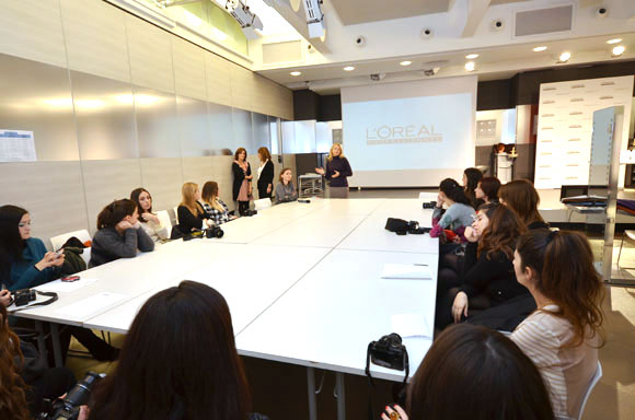 Dia L'Oréal Professionnel Event for Blogger