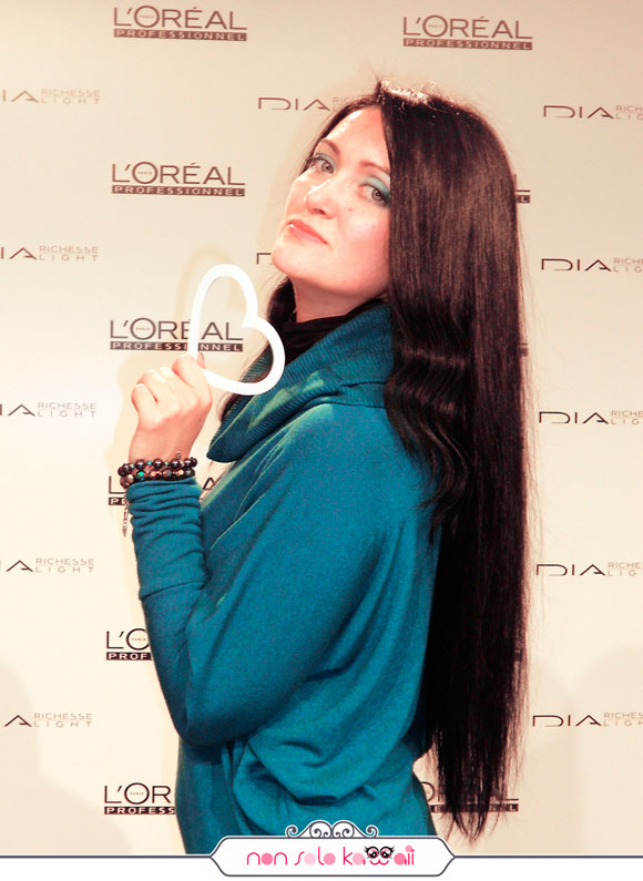 Angela non solo Kawaii, Dia L'Oréal Professionnel Event for Blogger
