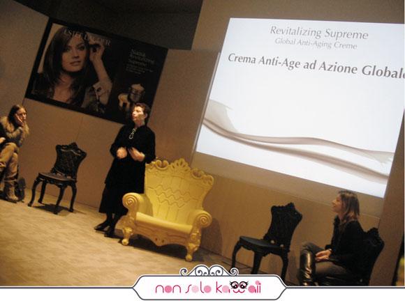 Estée Lauder Revitalizing Supreme blogger event, evento milano