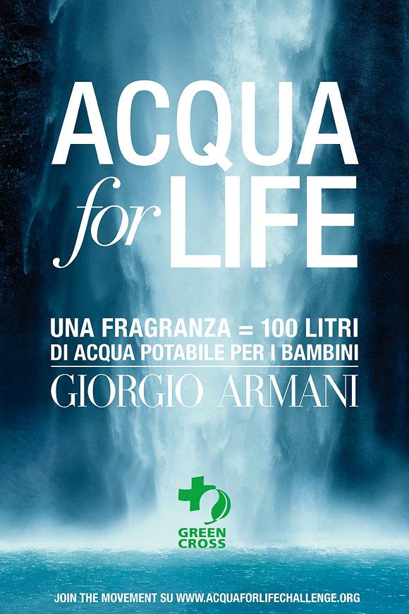 Acqua For Life – Giorgio Armani