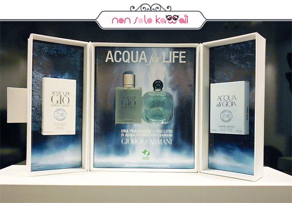 Acqua For Life – Acqua di Giò & Acqua di Gioia, Giorgio Armani