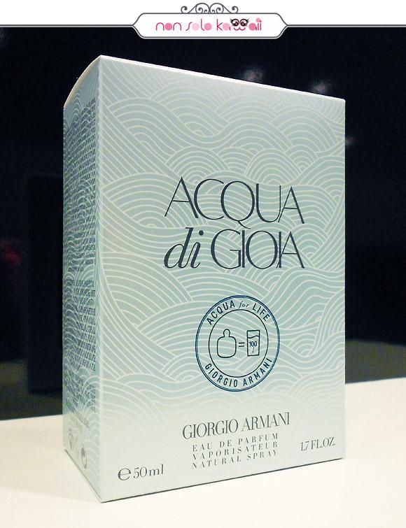 Acqua For Life – Acqua di Gioia, Giorgio Armani