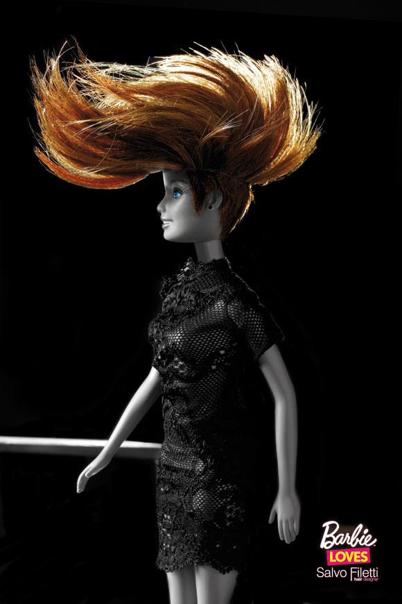© Barbie Loves Salvo Filetti, Sauvage, Fuoco e Fiamme