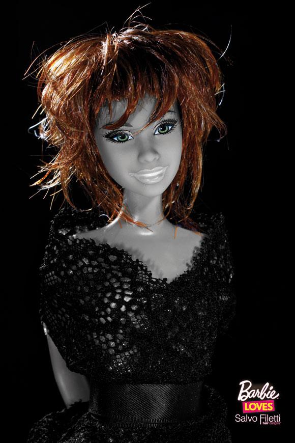 © Barbie Loves Salvo Filetti, Sauvage, Frangia Swing Rame