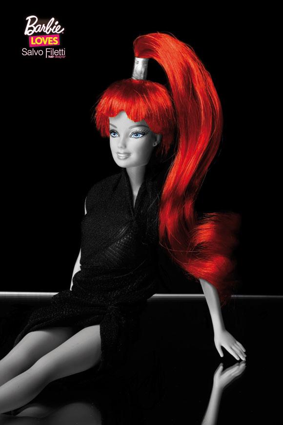 © Barbie Loves Salvo Filetti, Sauvage, Coda Red Passion