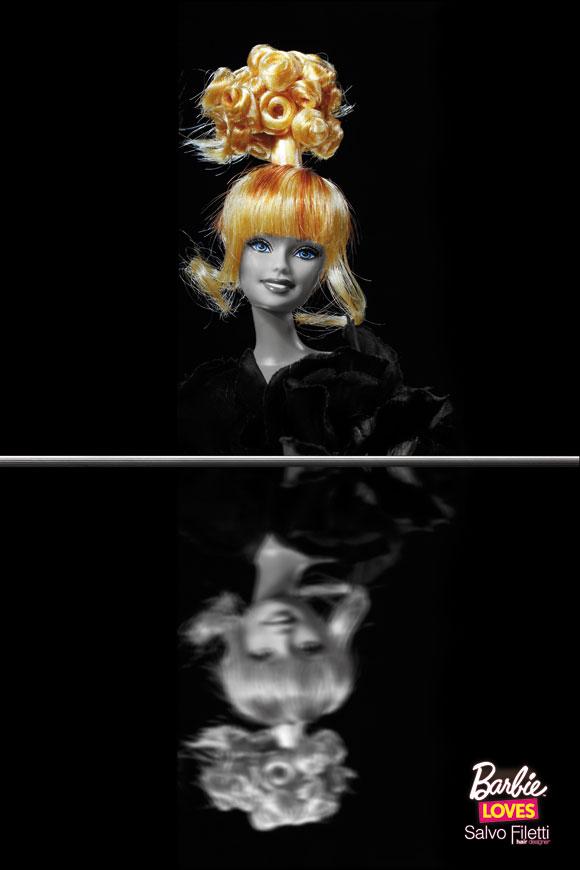 © Barbie Loves Salvo Filetti, Chic, Bouquet Carrè
