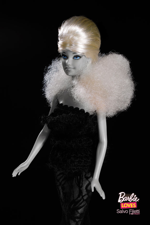 © Barbie Loves Salvo Filetti, Sauvage, Biondo con Turbante