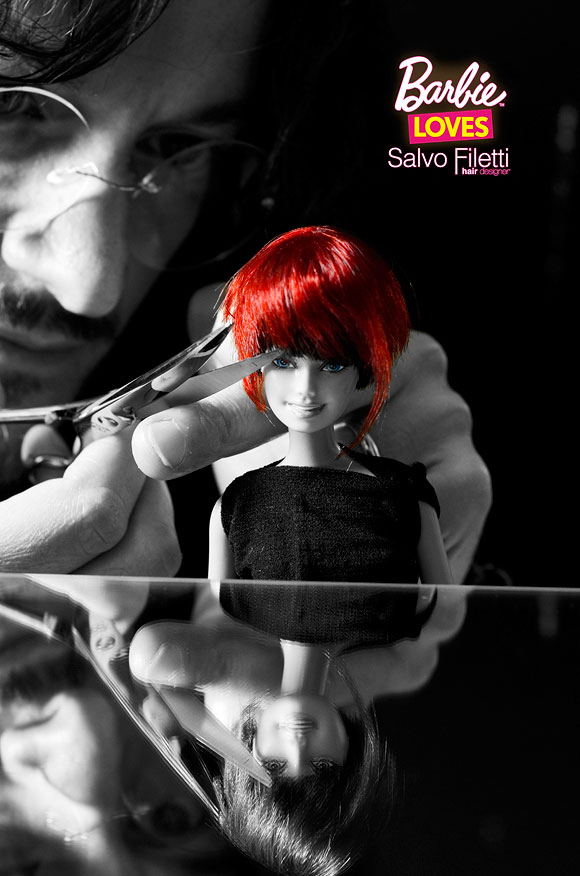 © Barbie Loves Salvo Filetti, Chic, Bob Red Passion