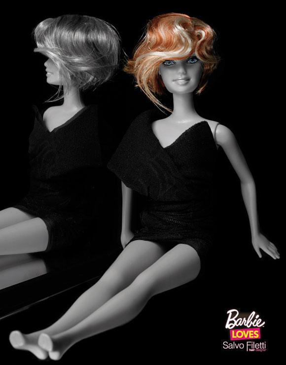 © Barbie Loves Salvo Filetti, Chic, Wave Carrè