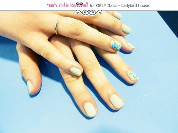 Orly nail art by Patrizia Petrucci