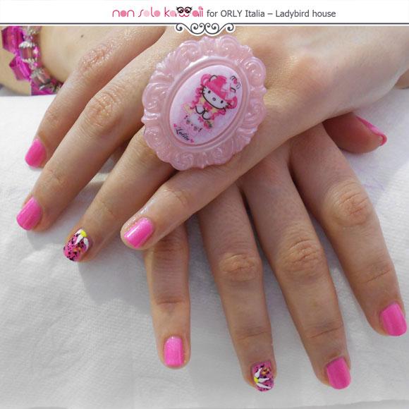 Angela's Hands, Orly nail art by Patrizia Petrucci