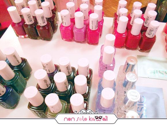 Essie nail polish smalti - Event for Blogger Milano Italia