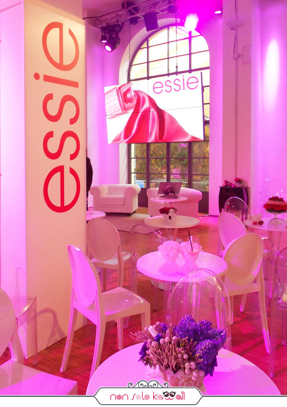 Essie Event for Blogger Milano Italia, spazio Edit