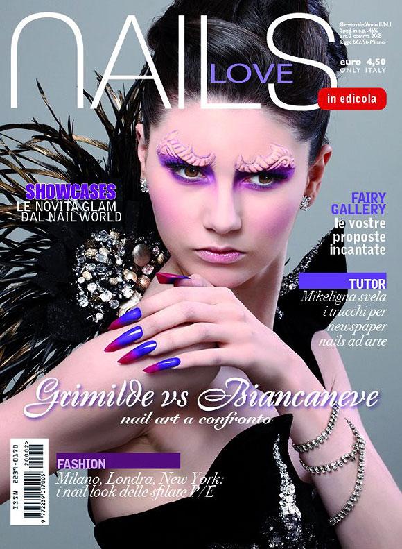Love Nails marzo-aprile 2012, cover