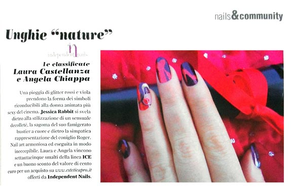 Love Nails marzo-aprile 2012, pg. 81, Iconic Nails