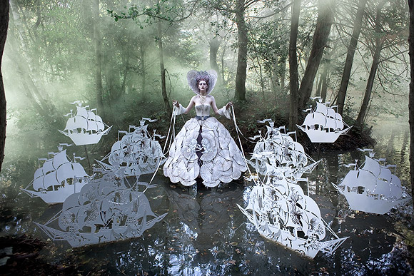 Kirsty Mitchell - Wonderland The Queen's Armada -