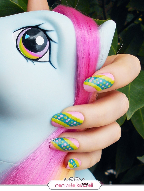 Nicki Minaj for Opi, Barbie's Back Nail Art