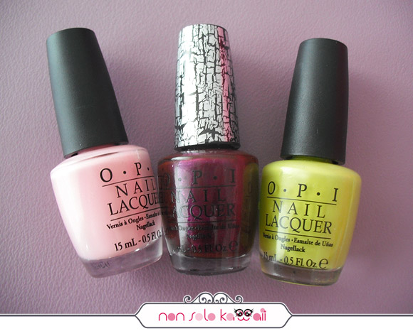 Nicki Minaj for Opi, Pink Friday, Super Bass Shatter, Did It On 'Em