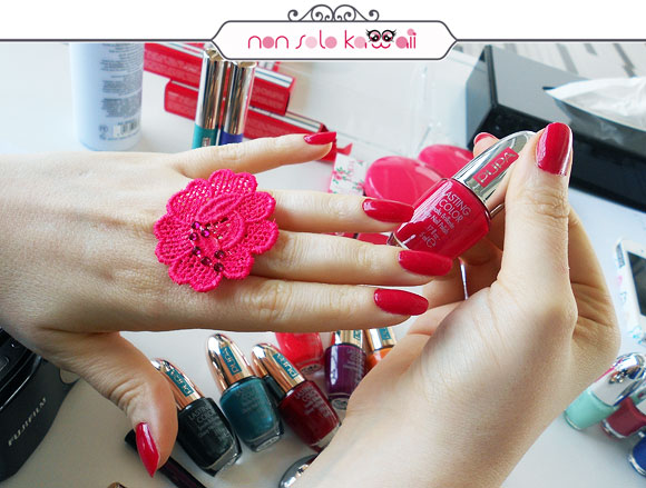 non solo Kawaii - Pupa, Jeans n' Roses, Lasting color 311 Sexy Red swatch