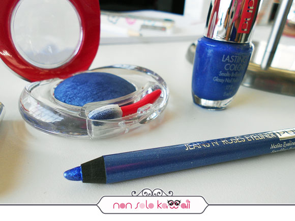 non solo Kawaii - Pupa, Jeans n' Roses Blue Jeans, Lasting color 726, Luminys Silk 01, Eyeliner 01