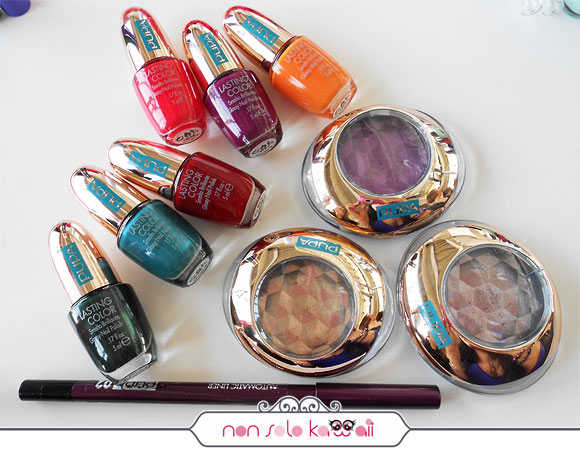 non solo Kawaii - Pupa, Hot Tropics Collection, Eyeshadow, Lasting Color