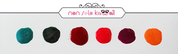 non solo Kawaii - Pupa, Hot Tropics Collection, Lasting Color swatches