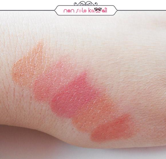non solo Kawaii - Miss Pupa Rossetti, Lipstick, Charming Nude, 100, 101, 102, 103, 104