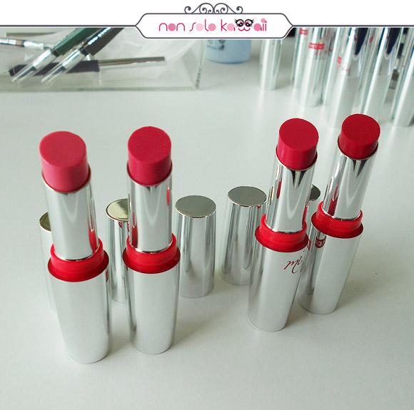 non solo Kawaii - Miss Pupa Rossetti, Lipstick, Fabulouse Pink, 300, 301, 303, 304