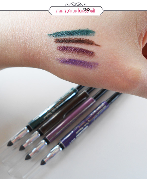 non solo Kawaii - Pupa, Eyeliner Made To Last swatches