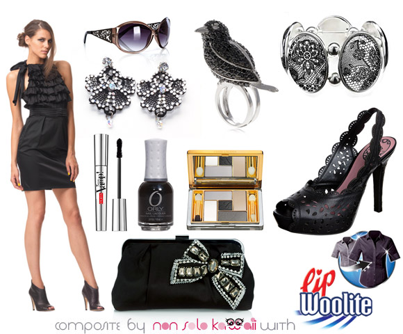 Kawaii Look: Total Black, outfit by non solo Kawaii