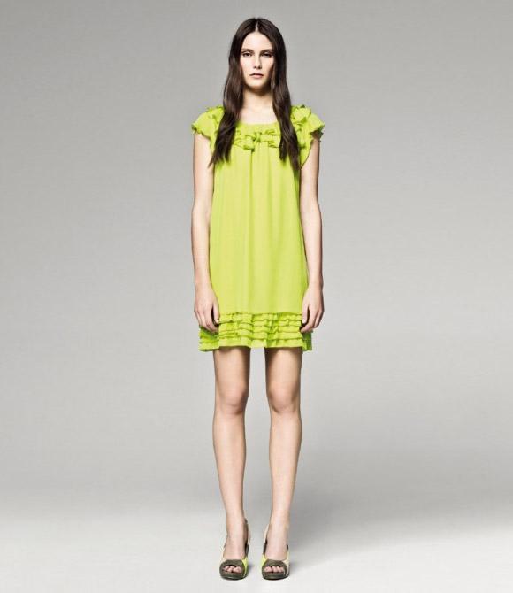 Sisley - Yellow Dress