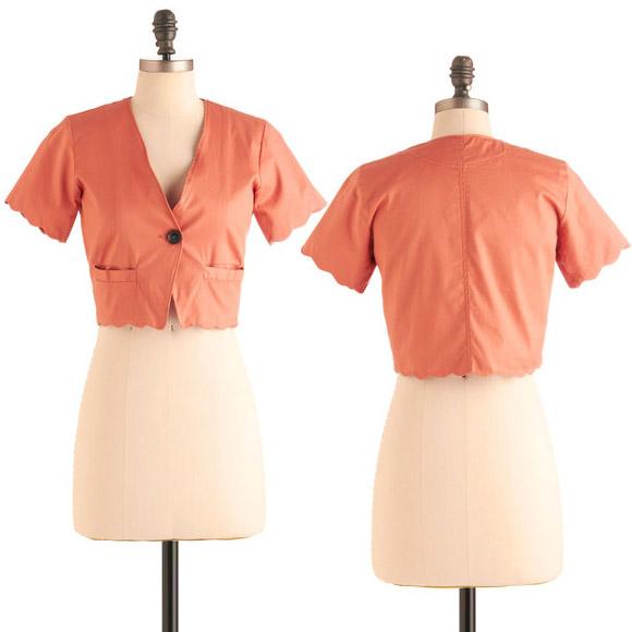 ModCloth - Pinking and Choosing Jacket