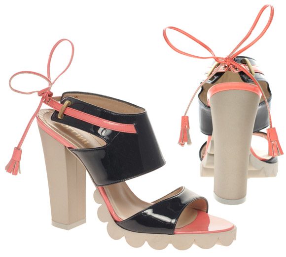 Pollini - Patent Heeled Sandals