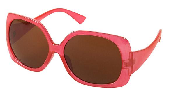 Topshop - Hot Pink Oversize Square Sunglasses