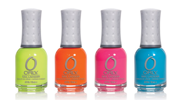 Orly - Feel the Vibe Collection: Glowstick, Melt Your Popsicle, Beach Cruiser, Skinny Dip
