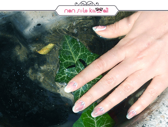 Water Lily manicure, flower nail art, Petals, Orly Cool Romance