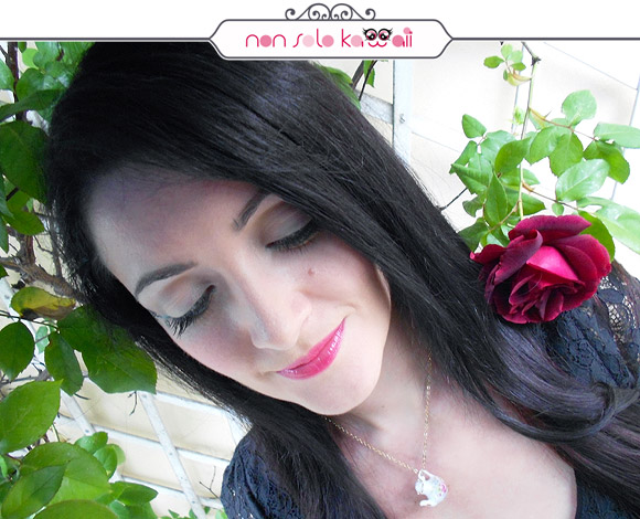 Labbra color Fragola e Rose Rosse / Strawberry Lips and Red Roses, Make-up Lancôme