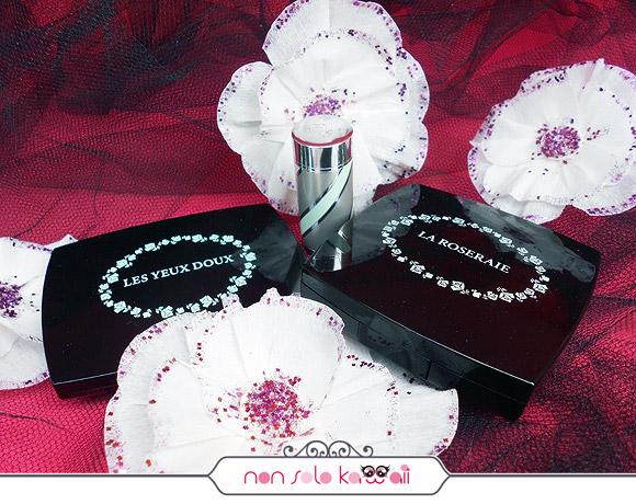 Lancôme Les Yeux Doux - Vert Tendresse - C50, Teint Idole Ultra - 02 Lys Rose, La Roseraie - 001