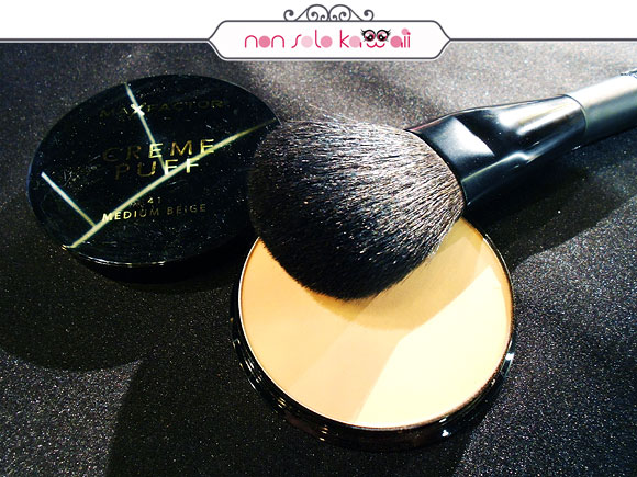 Max Factor Make Up School, Creme Puff Fondotinta e Cipria 2 in 1 - Milano