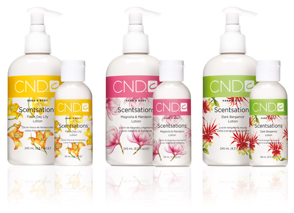 CND Scentsations Lotions - Blooming Meadows Collection