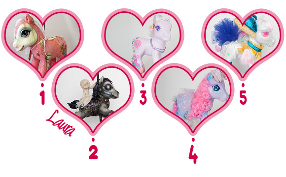 My Little Pony Project 2012 - Laura's Favourites