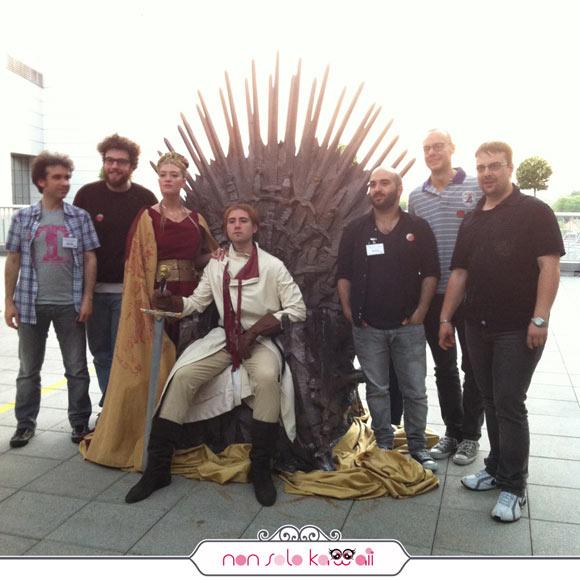 Lannister team, Trono di Spade, Sky