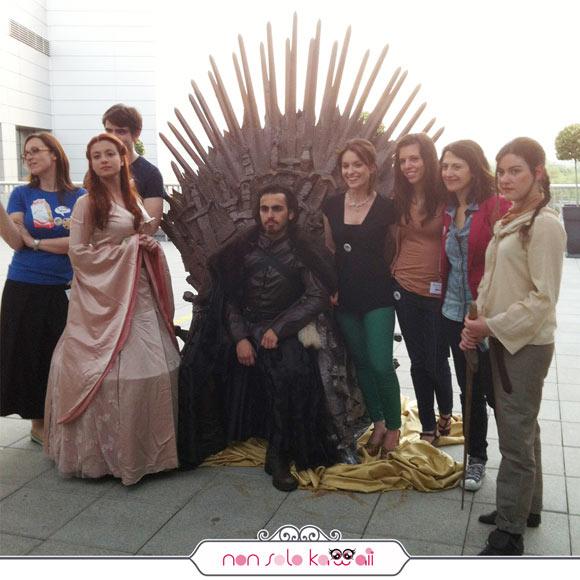 Stark team, Trono di Spade, Sky