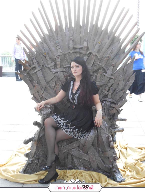 Angela Chiappa queen, Targaryen team, Trono di Spade, Sky