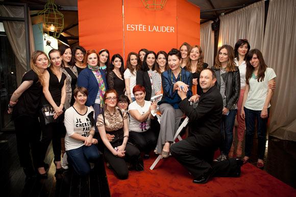 Estée Lauder team Bronze Goddess Capri blogger event, evento milano