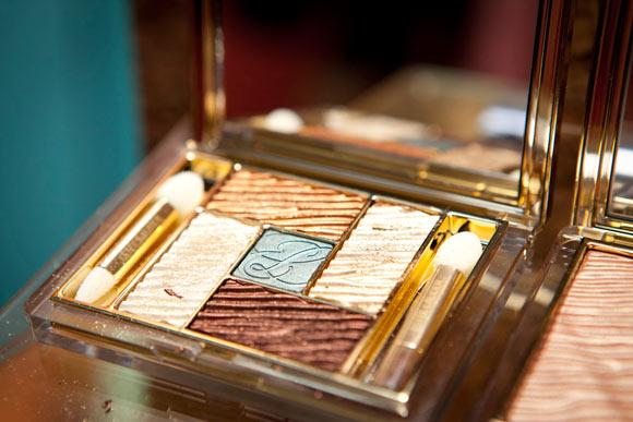 Estée Lauder Pure Color Five Color Gelée Powder EyeShadow Palette Bronze Sands