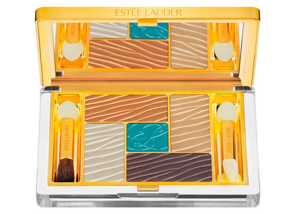 Five Color Gelée Powder EyeShadow Palette, Bronze Sands Estée Lauder Bronze Goddess Capri summer collection 2012