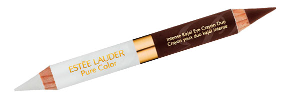 Pure Color - Intense Kajal Eye Crayon Duo, Molten Lava + White Sands Estée Lauder Bronze Goddess Capri summer collection 2012