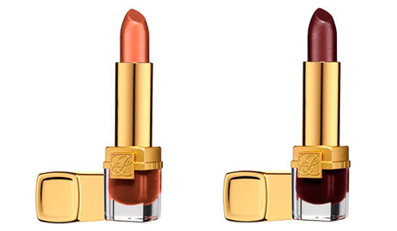Pure Color - Long Lasting Lipstick, Tiger Eye & Urban Auburn Estée Lauder Bronze Goddess Capri summer collection 2012